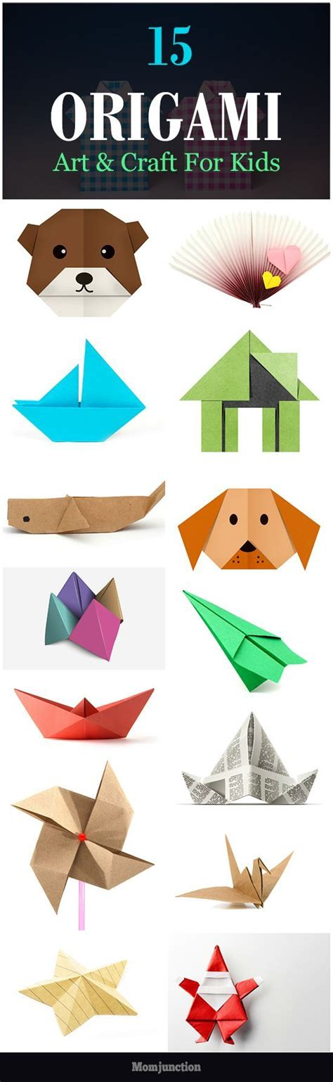 easy paper folding crafts for children 25 unique simple origami ideas on simple