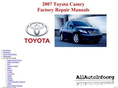 download car manuals pdf free 1992 toyota camry interior lighting service manual free download of 2007 toyota camry owners manual 2008 toyota camry hybrid