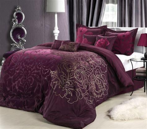 plum king comforter set 8pc plum purple oversized floral comforter set king