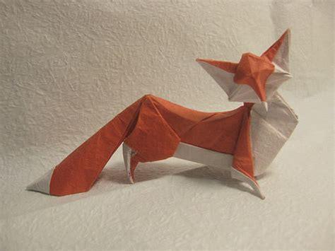 origami fox beautiful exles of origami paper hongkiat