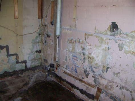 basement wall leak repair leaking basement budget waterproofing