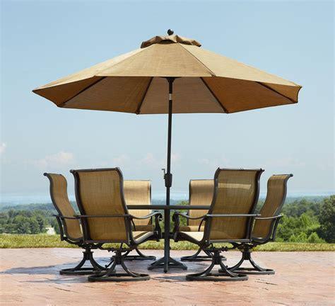 4 patio set with umbrella elizahittman patio umbrella set oakland living
