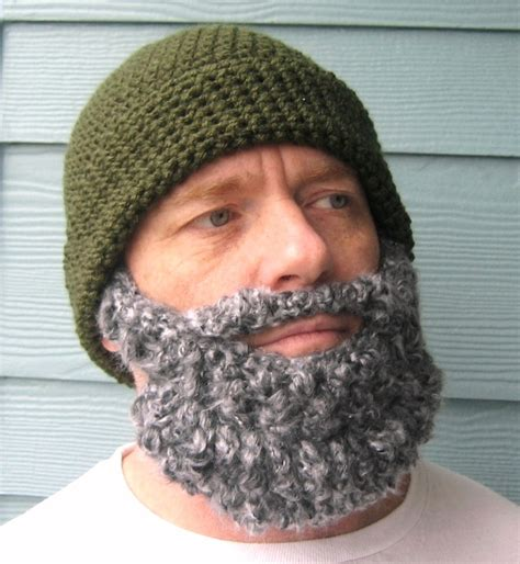 knitted beard knit hat with beard pattern newhairstylesformen2014