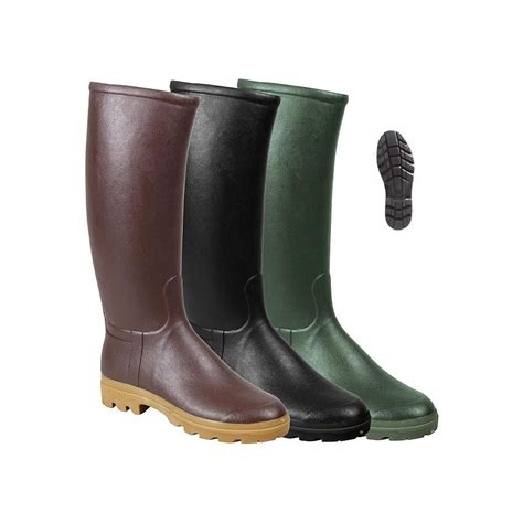 rubber st stores st hubert leather lined wellington boots st hubert