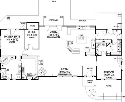 split bedroom house plans house plans one level single level house plans open floor