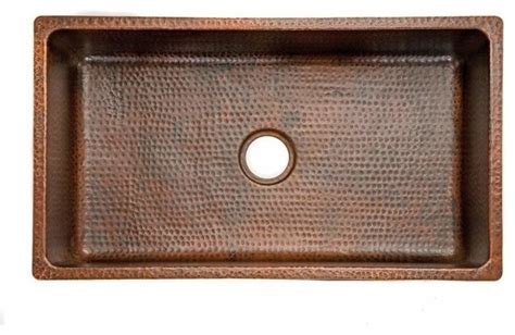 rustic kitchen sinks 33 quot copper drop in or undermounted sink rustic kitchen