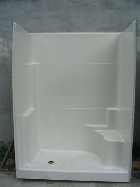 Walk In Shower Kits With Seat by One Seat Walk In Shower Stall Will Ship At Your Cost Ebay