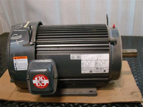 10 Hp Electric Motor by Us Motors 10hp Electric Motor 208 230 460v 3 216 1760rpm Ae48