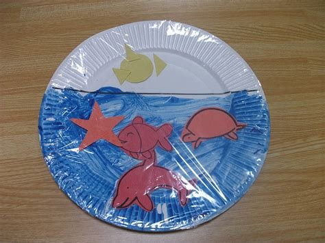 paper plate preschool crafts preschool crafts for easy sea paper plate craft