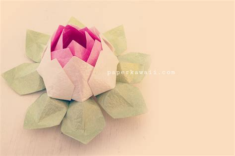 how to make origami lotus flower how to make an origami lotus flower origami autos post