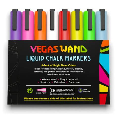chalk paint uae liquid chalk markers by vegas wand professional