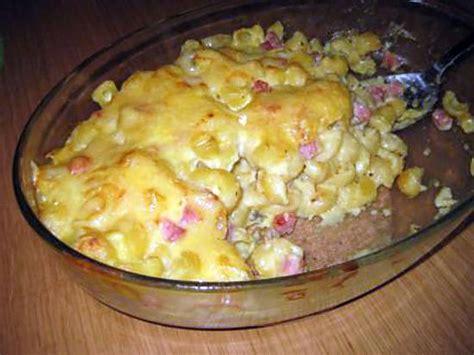 recette de p 226 tes faite de restes du frigo raclette jambon sauce blanche au curry
