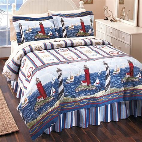 lighthouse comforter sets robin s dockside shop quilts and linens page 3