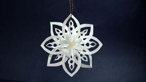 paper snowflake decorations how to make paper snowflakes easy diy