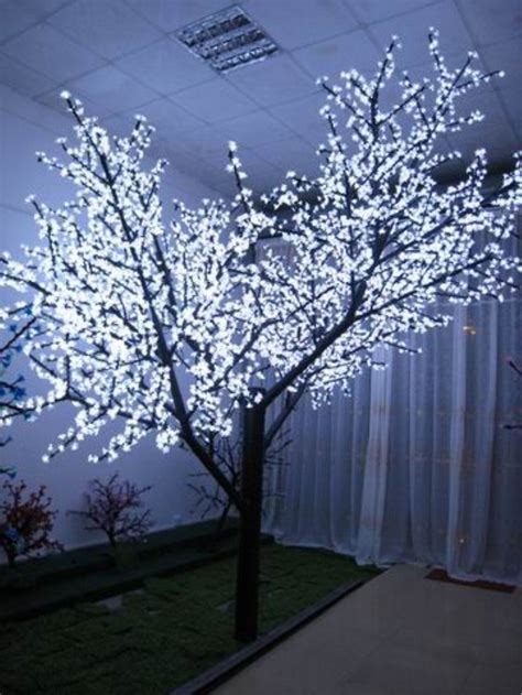 tree lights up colorful waterproof decorative indoor light up tree view