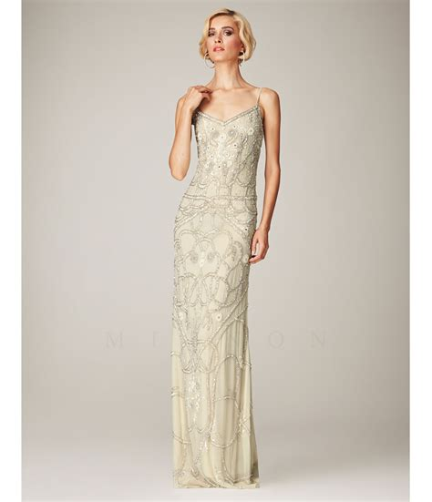 beaded gowns 1930s style prom dresses formal dresses evening gowns