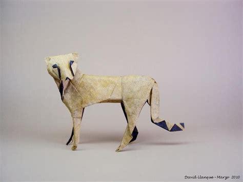origami cheetah origami safari 26 beautiful animals made out of paper