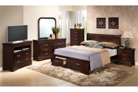 king size bed room set bedroom sets dawson cappuccino king size storage