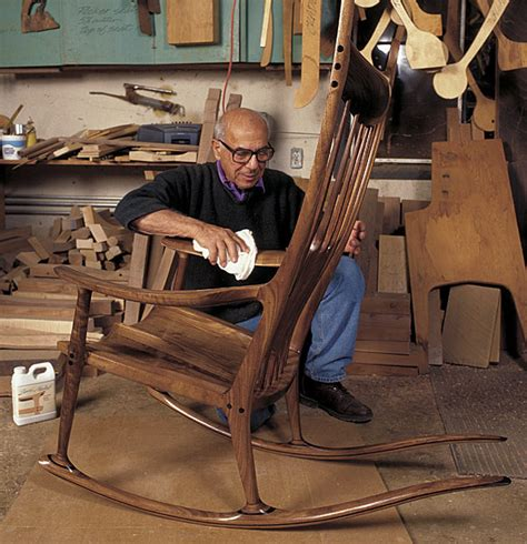 maloof woodworking the rocking chair of sam maloof furniture with spirit