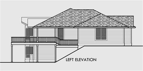 daylight basement home plans sprawling ranch daylight basement great room rec room