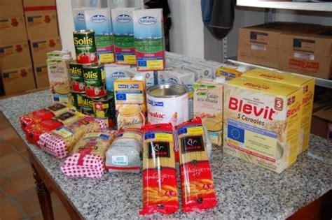 cruz roja banco de alimentos alguazas alguazas distribuye comida del banco de