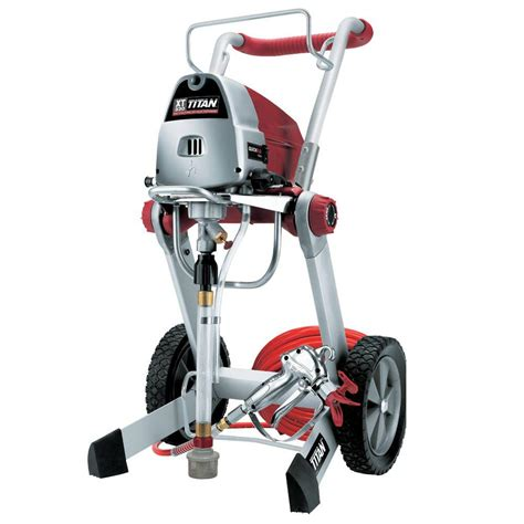 home depot titan paint sprayer graco x5 airless paint sprayer 262800 the home depot