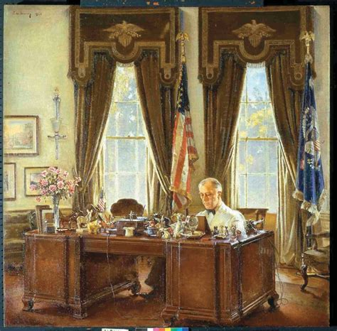 the oval office desk franklin d roosevelt at his desk in the oval office