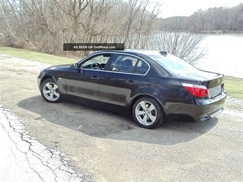 2007 Bmw 525xi by 2007 Bmw 525xi Base Sedan 4 Door 3 0l