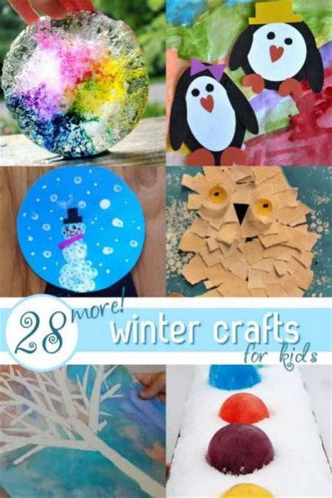 28 Easy Winter Crafts For On As We Grow