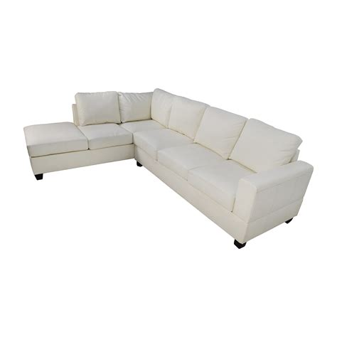 leather l shaped sectional sofa 45 l shaped white leather sectional sofas