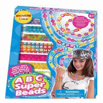 kid craft set abc craft set make diy jewelry by