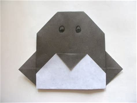 easy origami penguin learning origami origami penguin