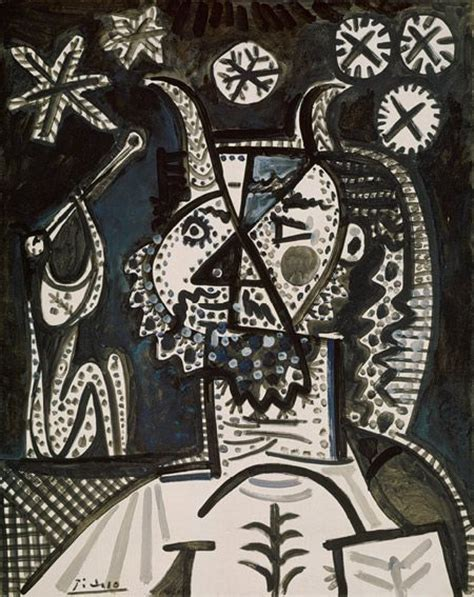 picasso paintings starry pablo picasso faun with 1970 305 heilbrunn