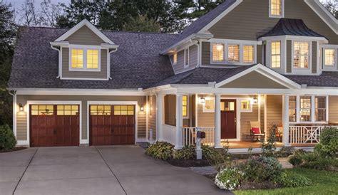 garage door to house carriage house garage doors
