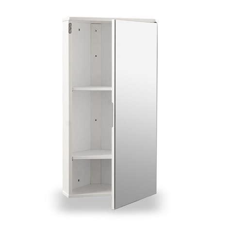 Corner Bathroom Cabinet White by White Gloss Corner Bathroom Wall Cabinet At Home