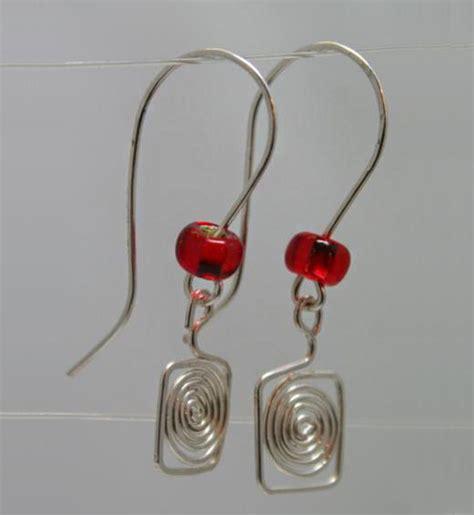 how to make wire jewelry earrings tutorial on wire earrings nbeads