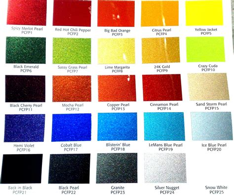paint colors of 2017 chevy color chart 2017 2018 best cars reviews