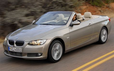 2007 Bmw Convertible by 2007 Bmw 335i Convertible Left Front View Photo 1