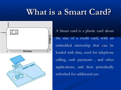 what is card smart card