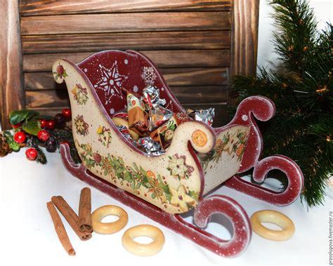 decoupage shop sleigh decoupage shop on livemaster