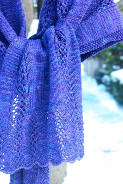easy lace knit shawl patterns simple lace shawl pdf pattern knitting