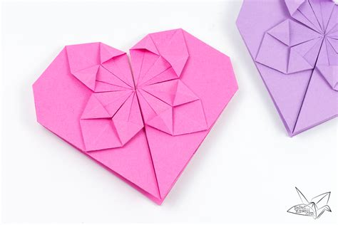 origami haert money origami tutorial for s day paper