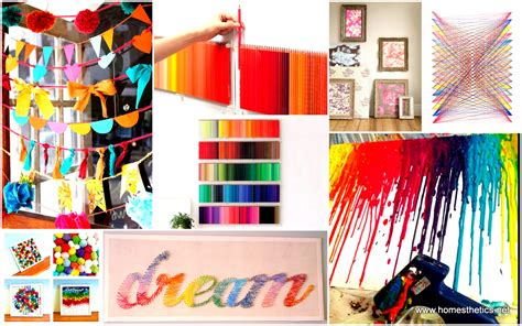 diy arts and craft projects 39 simple and spectacular diy wall projects that will