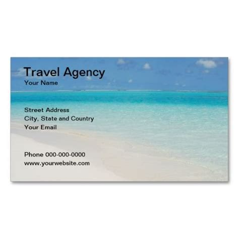 what company makes cards travel agency business card make your own business card
