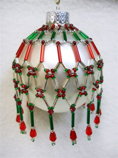 beaded ornament cover patterns free pattern only beaded ornament cover original