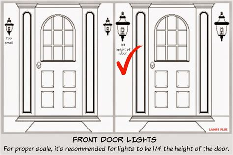 exterior door lights focal point styling exterior home improvements with black