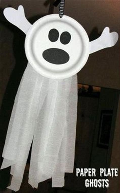 Paper Plate Ghost Crafts To Do With My