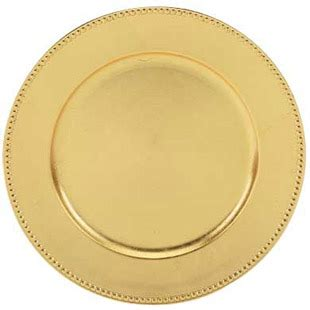 gold beaded charger plates wholesale gold beaded charger plate 13 quot acrylic buy gold