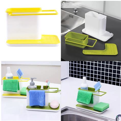 kitchen sink caddy organizer plastic racks organizer caddy storage kitchen sink utensil