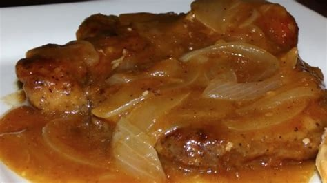 smothered chops smothered pork chop and gravy recipes food for health